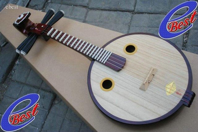 Cheap Small Ruan Lute of Chinese Musical Instruments 2011 NEW free shipping