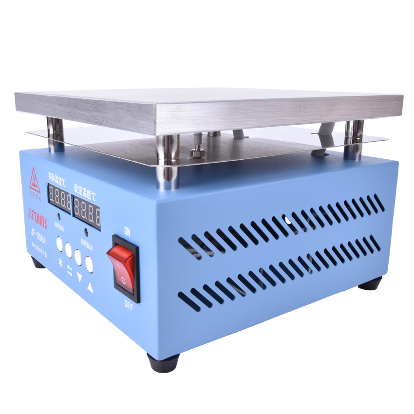 Mini JF-956A Preheat Station 200 * 200 MM Digital Constant Temperature Heating Platform for Mobile Phone LCD Screen Repair mini preheat station 200 200mm digital constant temperature heating platform for smd bga pcb mobile phone lcd screen repair