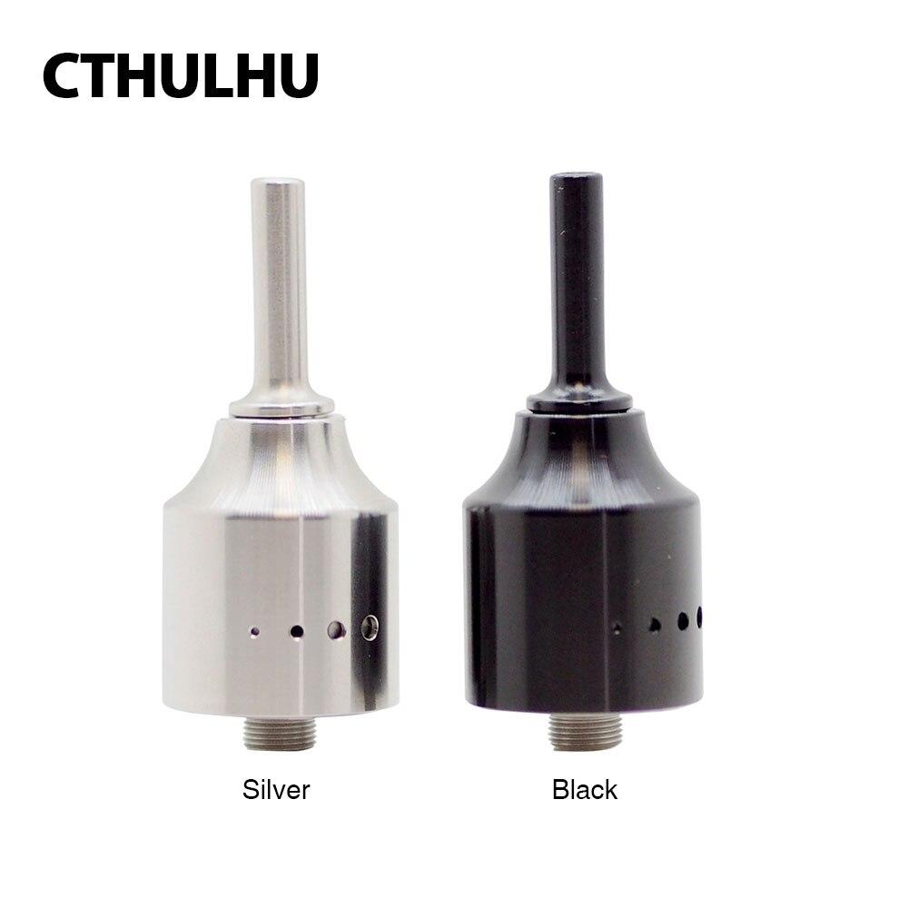 100% Originale Cthulhu 1928 MTL RDA Serbatoio Atomizzatore 22mm Diametro Compatibile con Squonker MODs Supporto Single Coil Building Vaping