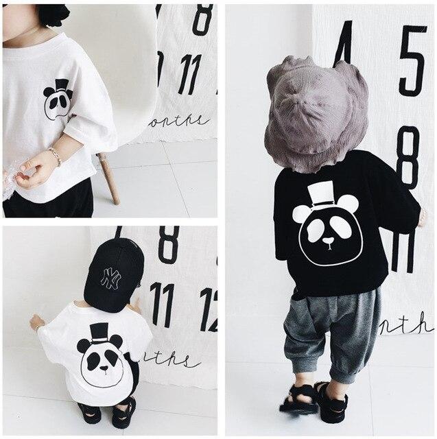 a7d3c56c75f 2018 kOREAN STYLES KIDS CLOTHES BABY BOY CLOTHES BABY GIRL CLOTHES KIDS  panda sweatshirts hoodies boys clothing girls clothing
