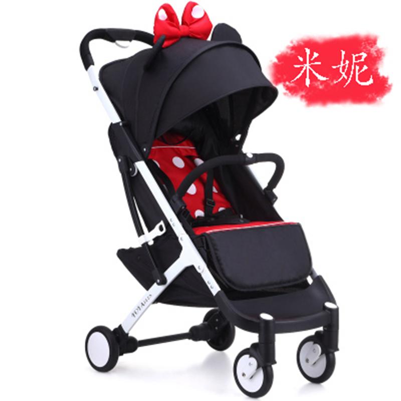 YOYA PLUS 3 stroller portable light stroller baby stroller 8 gift