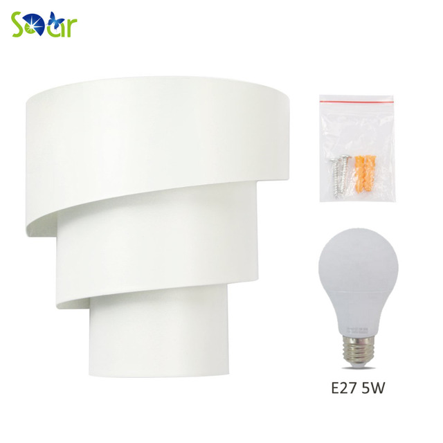 Sdar 5w Led Wall Lights Lamp Sconce Night Light Install Anywhere Warm White