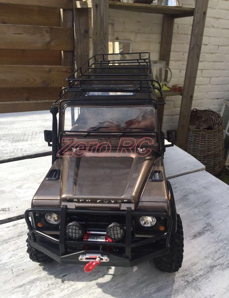 Oyuncaklar ve Hobi Ürünleri'ten Parçalar ve Aksesuarlar'de 1/10 TAM METAL rc kaya paleti ARABA Defender D110 Şasi RC4WD'da  Grup 3