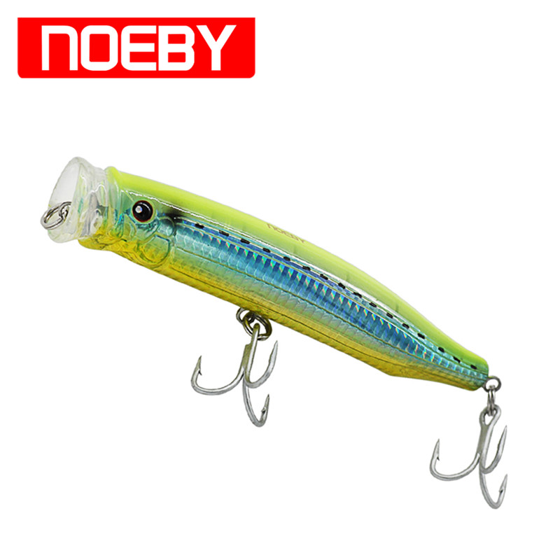 Promosi NOEBY NBL9246D 150mm / 54.5g Popper Atas Air Lure Isca Artificial Pesca Leurre Dur Peche Souple Shade Hard Bait