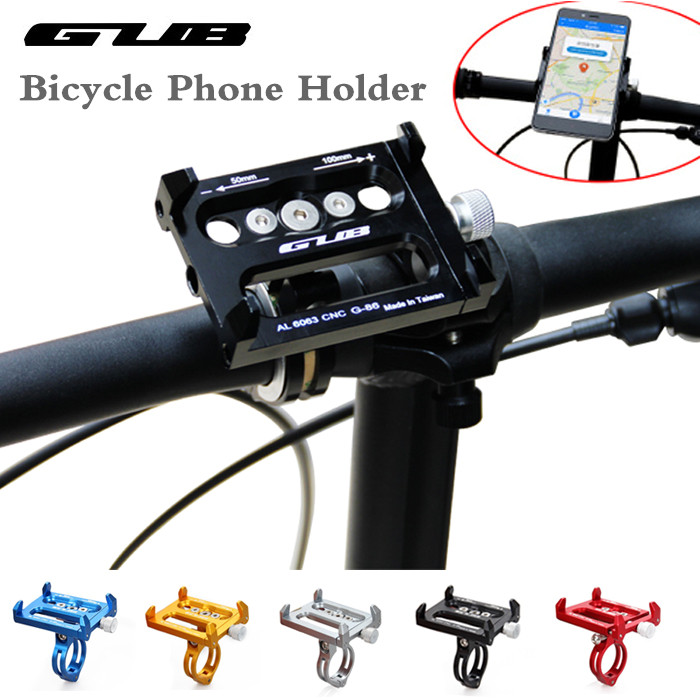 GUB G-86 Universal Aluminum Bike Phone Holder Motorcycle Support GPS Bicycle Mount Stand For Iphone Samsung Mobil Phone