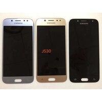 Super Amoled Brightness Adjustment LCD For Samsung Galaxy J5 2017 J530 J530F AMOLED LCD Display Touch