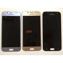 Super Amoled Яркость регулировки ЖК-дисплей для samsung Galaxy J5 2017 J530 J530F AMOLED ЖК-дисплей Дисплей Сенсорный экран планшета Ассамблеи