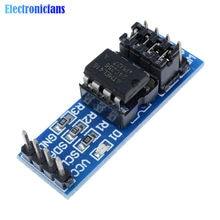 Module de mémoire à puce 8P AT24C256 24C256 I2C, indicateur d'alimentation, résistance Pull-Up, réglage de cavalier Direct, 5 pièces