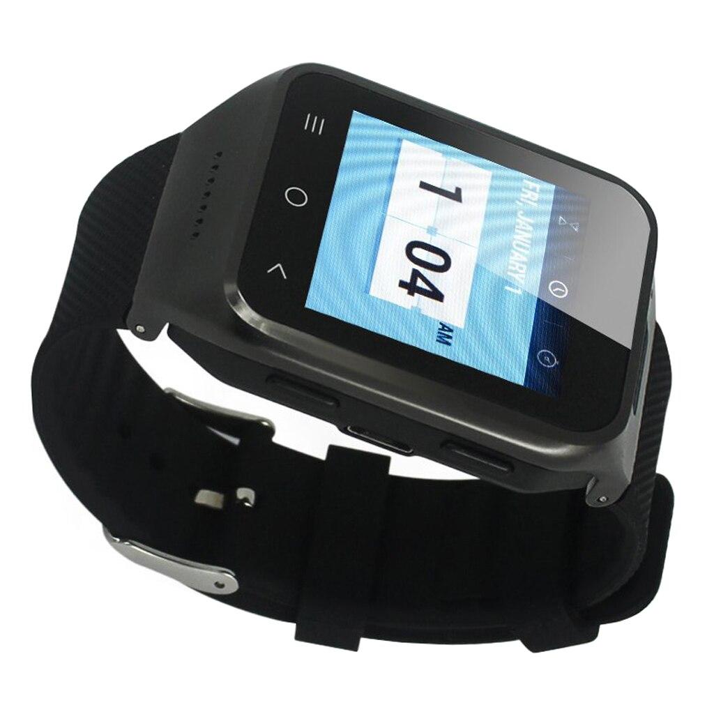 SCLS ZGPAX S8 1.54 Inch Android 4.4 Kitkat OS Dual Core Unlocked 3G SIM Smart Phone Smart Wristwatch (Black)