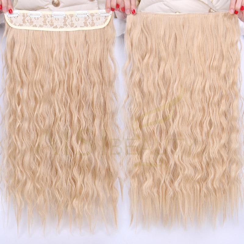 AISI BEAUTY Włosy syntetyczne 5 klipsów Rozszerzenie Water Wave - Włosy Syntetyczne - Zdjęcie 2