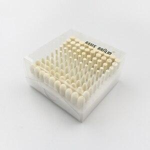 Image 2 - 100 szt. Głowice szlifierskie z filcu wełnianego 4 10mm Dremel Mini tarcza filcowa do metalu
