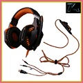 Última versión gaming headset auriculares auricular auriculares audifonos headfone head set para para playstation 4 ps4 pc gamer