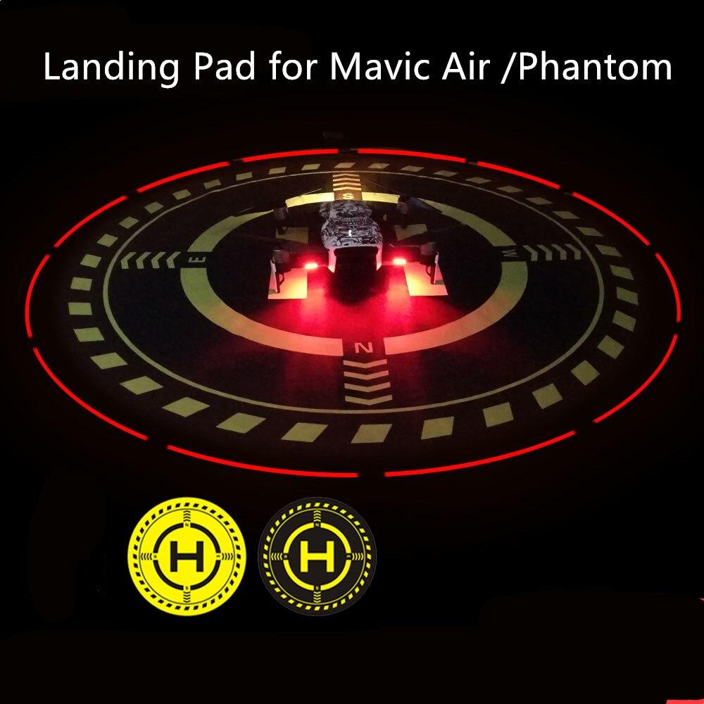 DJI mavic Pro Luminous Function Parking Aporn Foldable DJI Mavic Air Landing Pad with LED 70 CM For DJI phantom 3