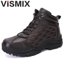 New 2018 Fashion Men Boots Handmade Super Warm Men Winter Shoes High Quality Ankle Boots For Autumn And Winter Shoes Size 39-45