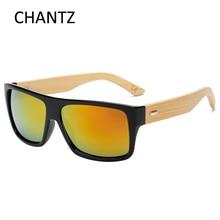 Retro Bamboo sunglasses women men brand designer mirror sun glasses UV400 goggle coating shades gafas de sol mujer hombre все цены