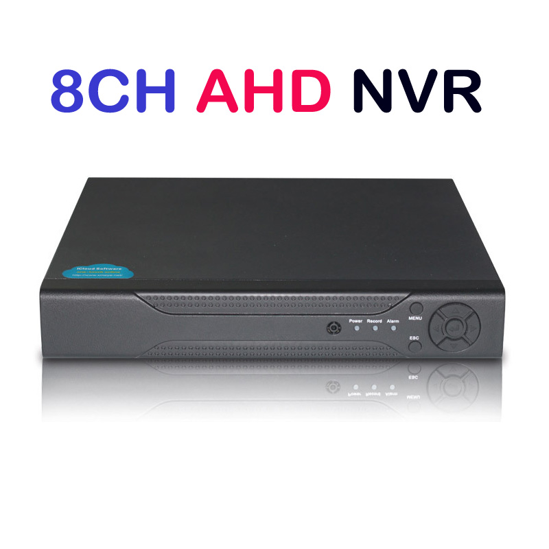 8CH AHD DVR 720P 12fps AHDM H.264 CCTV Video Recorder Camera Onvif Network 8 Channel IP NVR/1080P Multilanguage 1080N@12fps 1080n 8ch ahd dvr nvr network cctv