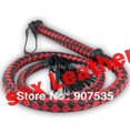 black&red PU leather whip sex spanking/Quality make up Lash/Female temptation/handle sexy whips