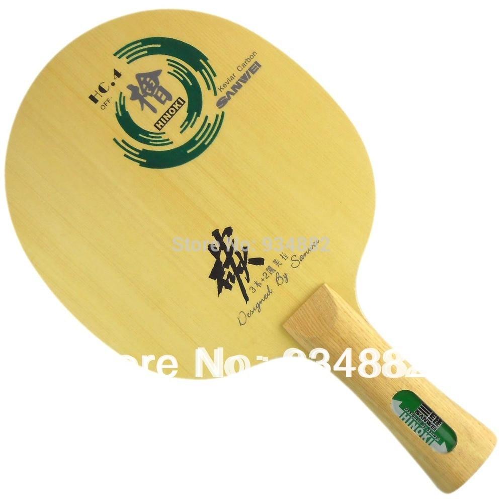 Sanwei HC.4 (HC 4, HC-4, HC4) Table Tennis (PingPong) Blade