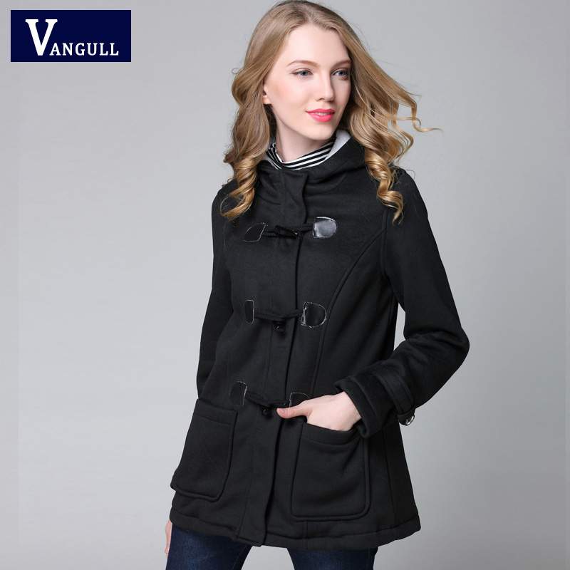Vangull New Fashion Warm Winter Coat Women Thick Plus Size Hooded - Women's Clothing - Photo 4