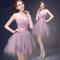 Cute Back To School Short Prom Dresses 2016 Homecoming Ball Gown Puffy Dancing Party Dress