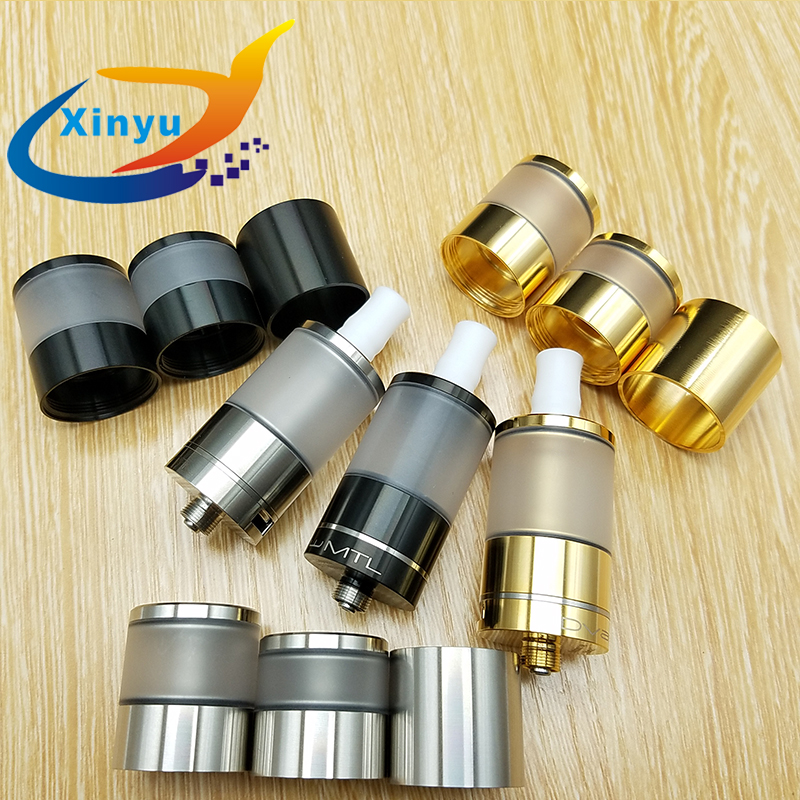 Update Dvarw MTL RTA Atomizer 316 stainless steel diameter 22mm 5ml Bigger oval hole chimney Rebuildable Tank fit 510 vape mods цены