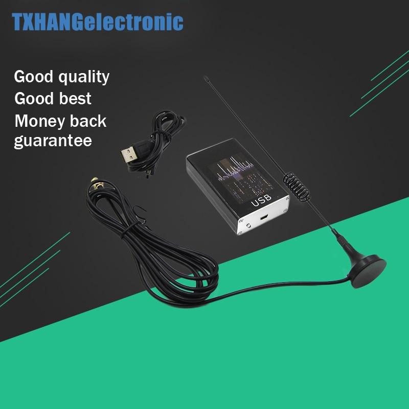 Ham Radio Receiver 100KHz-1.7GHz full Band UV HF RTL-SDR USB Tuner Receiver R820T+8232 Ham Radio Software Defined Radio