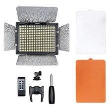 Yongnuo LED Video Light YN 300III  3200K-5500K Professional Photographic Camcorder Camera Light Panel  Kit AC DC Power Adapter
