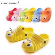 Caterpillar cielarko sapatos garden bebe тапочки скольжения сандалии shoes летние симпатичные