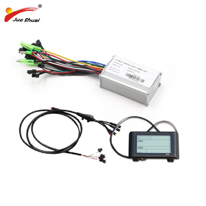 36V 48V 250W Electric Bike Controller Set Sine Wave LED SW900LCD Display Waterproof Cable for Electric Bicycle Ebike Kit Parts