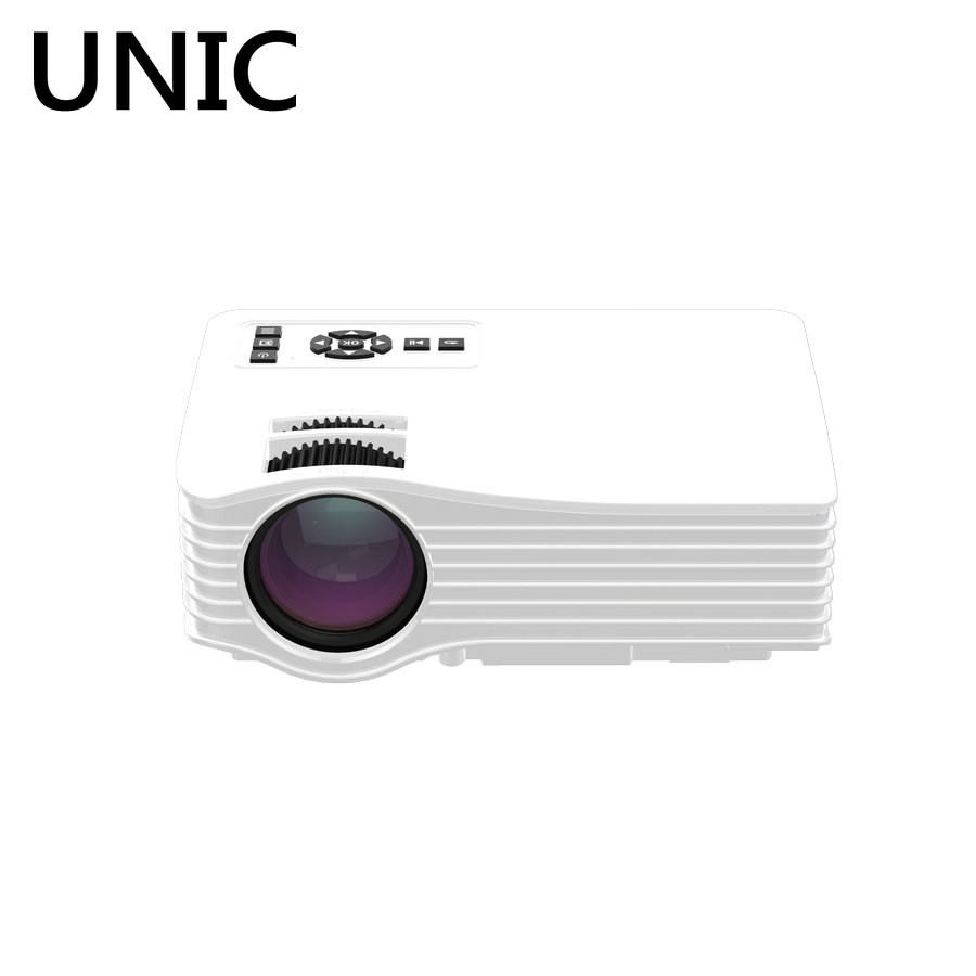 UNIC UC36 Home Theater Cinema Projetor 1080P HD HDMI USB Video Digital portable LCD LED Mini Proyector Pico Beamer projetor 2017