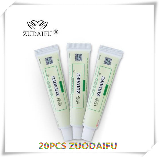 20pcs zudaifu body cream without retail box men women skin care product relieve Psoriasis Dermatitis Eczema