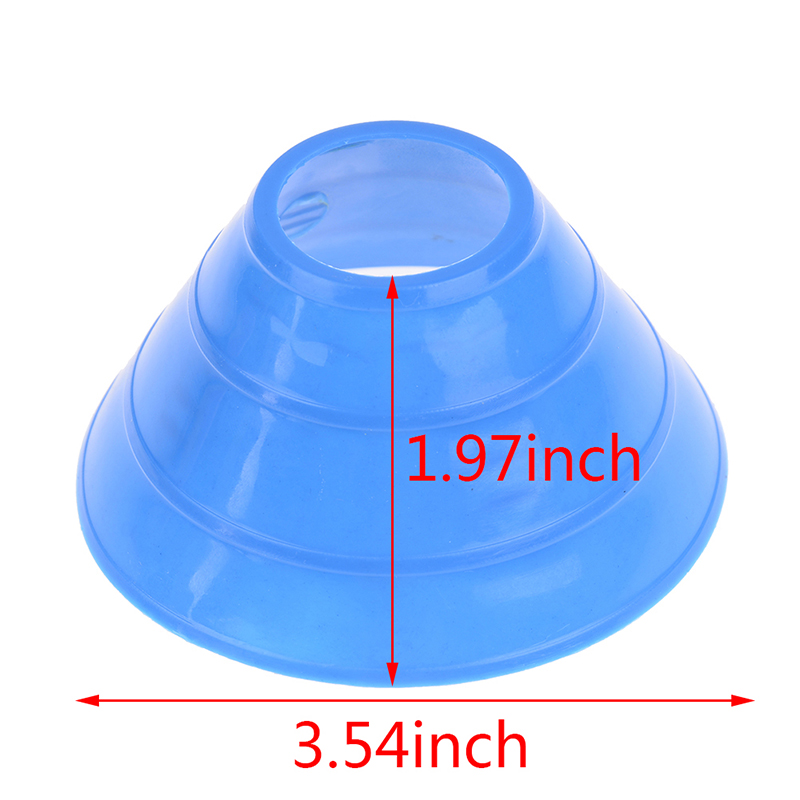 5Pcs Cones Marker Discs Soccers Sports Entertainment Accessories Tools Soccer Football Training Tools Sports & Entertainment