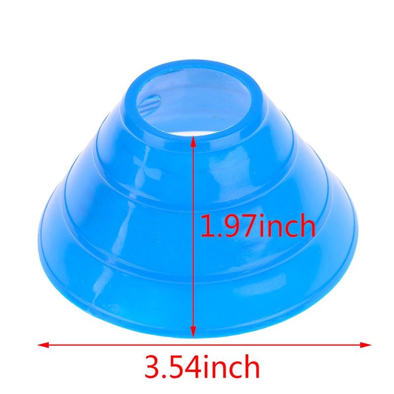 5Pcs Cones Marker Discs Soccers Sports Entertainment Accessories Tools Soccer Football Training Tools Sports & Entertainment