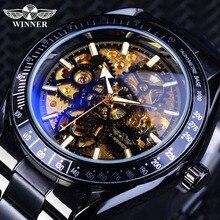 Golden Mechanical Forsining Bracelet