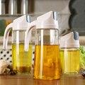 Boxi cuisine verre distributeur de bouteille d'huile ouverture automatique fermeture maison bouteilles pour huile et vinaigre miel huile d'olive conteneur