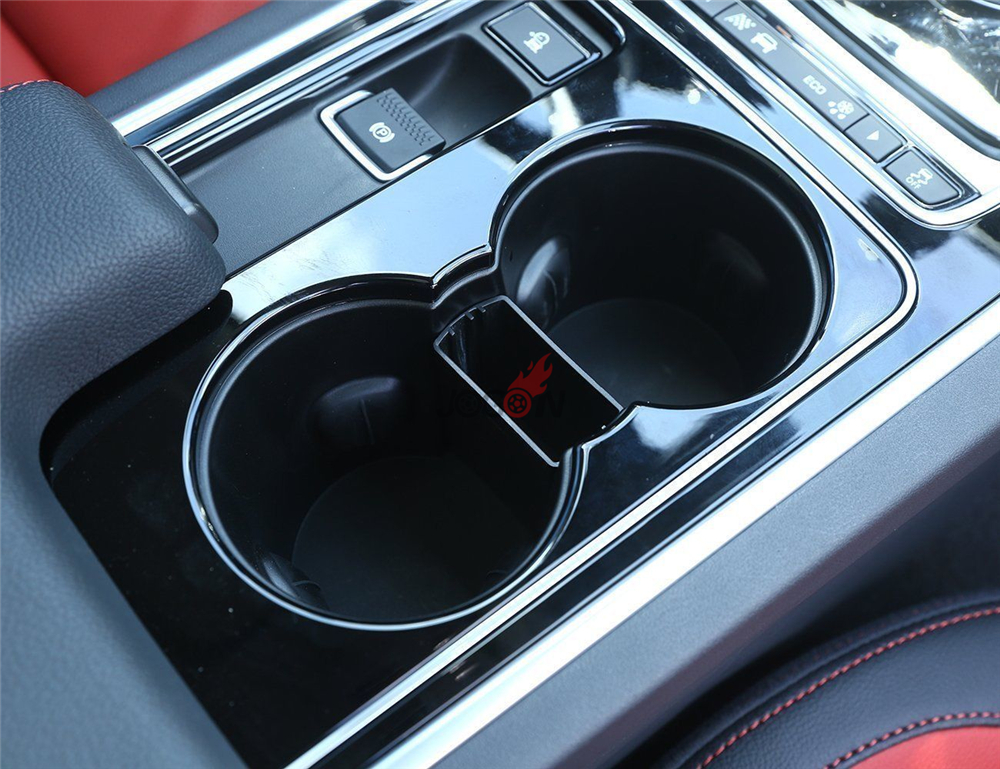 For Jaguar F-Pace X761 2016 2017 Center Water Cup Small Organizer Holder Tray