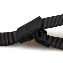 Automatic Buckle, No Holes Nylon Belt For Men
