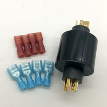10pcs  miniature slip ring OD12mm  8 circuits,  Capule slip ring 18 cirucits x 2A/per circuit compact slip ring