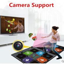 Двусторонний танцевальный коврик для ТВ usb компьютерная Степ игровая машина двойной hd утолщение танцевальная машина йога