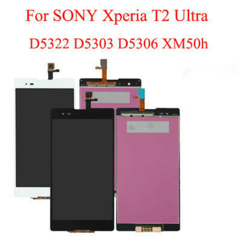 100% Original For Sony Xperia T2 Ultra D5322 LCD Screen Display Touch Digitizer100% Original For Sony Xperia T2 Ultra D5322 LCD Screen Display Touch Digitizer