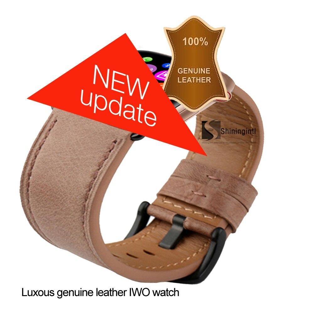 Smochm IWO 9 1 1 MTK2502C Wrist Smart Watch Wireless Charge Smartwatch 44MM Series 4 Genuine