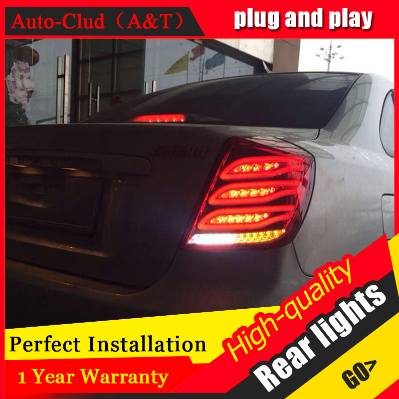 Auto Clud Car Styling for Chevrolet Lacetti Taillights 2008-2014 New Lacetti LED Tail Lamp Rear Lamp DRL+Brake+Park+Signal led l автоинструменты new design autocom cdp 2014 2 3in1 led ds150