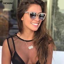 2017 New Goggles sunglasses women Retro Style Metal Frame Sun Glasses Famous Lady Brand Designer Oculos Feminino