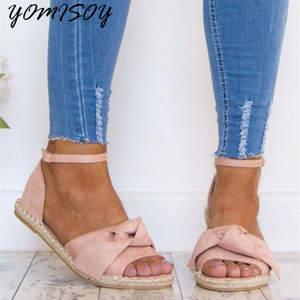 eea84fb531c YOMISOY 2018 Shoes Low Heels Summer Flat Women Sandals