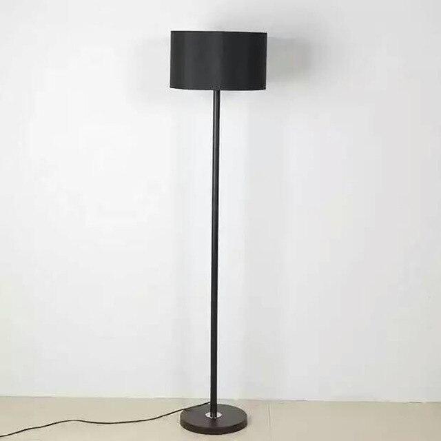 1 Pcs Modern Brief Fabric Floor Lamp Bedroom Lights Living Room Standing Lamps Lighting Free