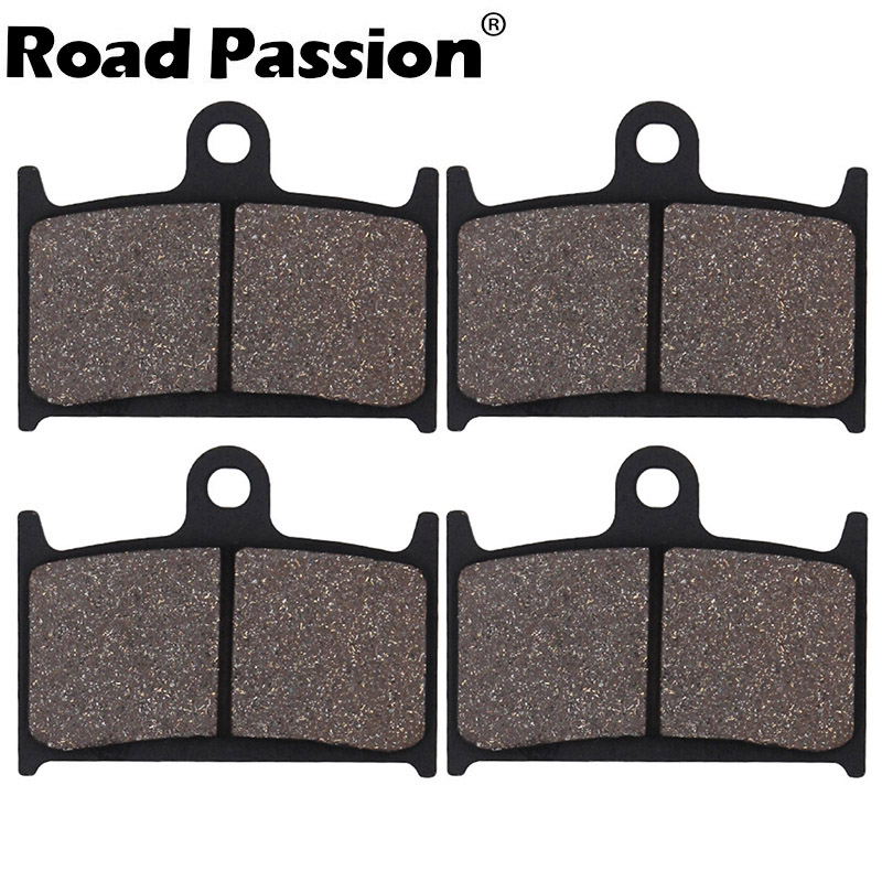 Motorcycle Front Brake Pads For <font><b>SUZUKI</b></font> GSXR600 <font><b>GSXR</b></font> 600 1992-1993 GSXR750 750 RF900R RF 900 R 900R GSXR1100 <font><b>1100</b></font> GSF1200 1200 image