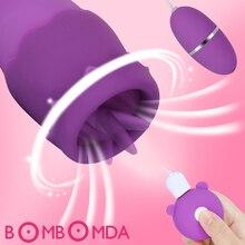 20 Modo clítoris lamiendo estimulador lengua vibrador pezón tonto mama ampliar vibrador juguetes sexuales masturbador Vaginal para las mujeres