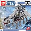 05053 1788 unids genuino serie star la república dropship conjunto de bloques de construcción ladrillos niños juguetes 10195 compatiable con lego