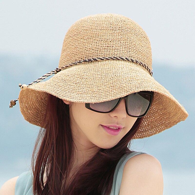 Aliexpress.com : Buy 2016 Summer High End Raffia Hat ...