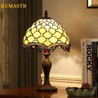 Гостиная настольная лампа спальня прикроватный свет пятнистости стекло украшения Настольная светодиодный настольная для настольная ламп